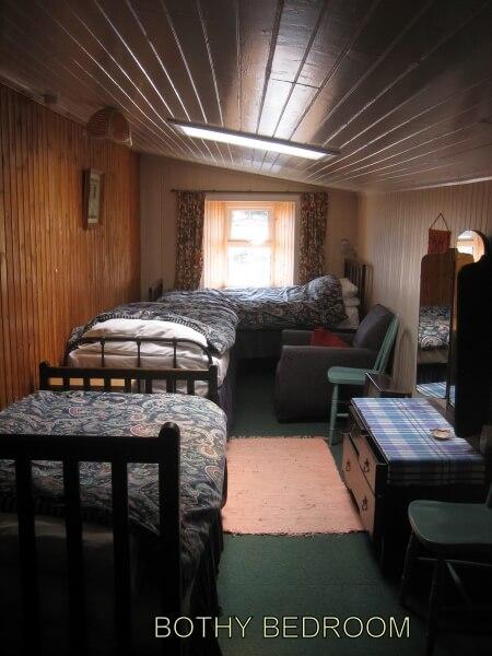 Allt Dearg Bothy bedroom